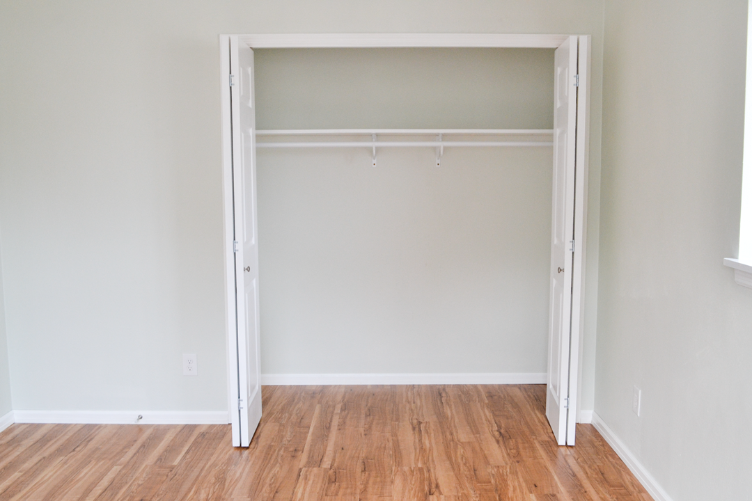 First Bedroom Closet