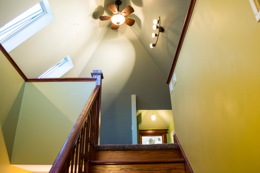 Remodeled Victorian Attic Space