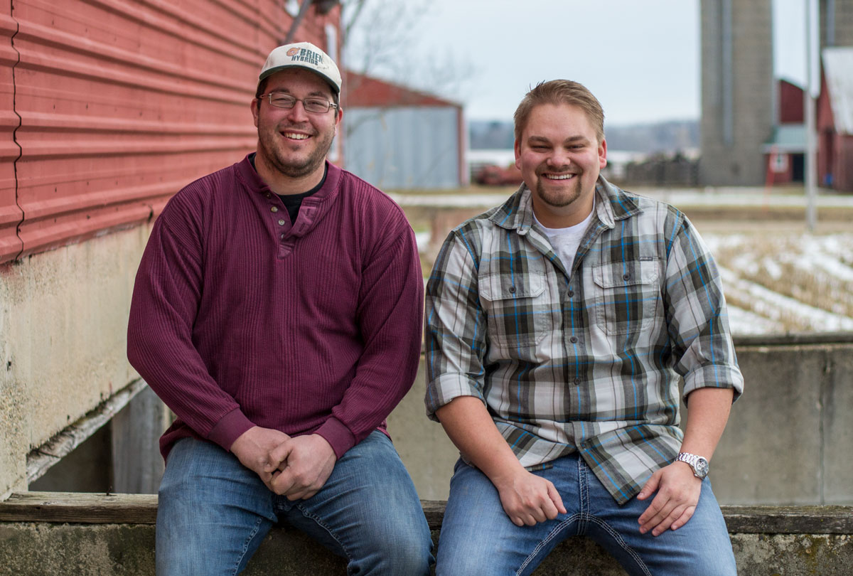 Mitch Wendt and Carson Yanna of Boom Brothers Property Solutions in Madison, WI