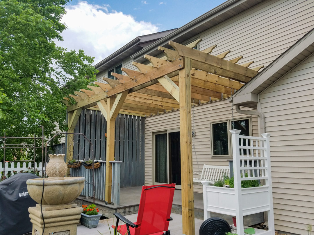 Pergola Addition on Existing Deck – Cottage Grove