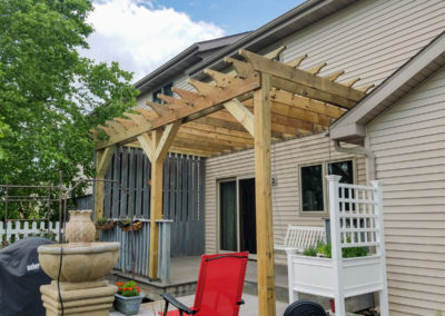 Pergola Addition – Maria Lane