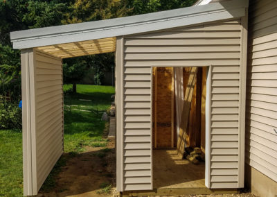 Storage Shed Addition – Sun Prairie, WI