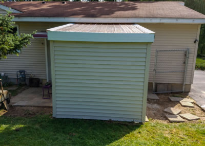 garage shed addition